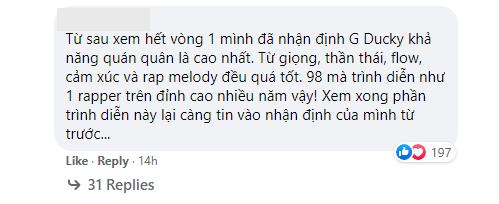 Vòng Đối đầu mới qua nửa chặng đường, dân mạng đã đồng loạt gọi một cái tên cho ngôi vị quán quân Rap Việt 5