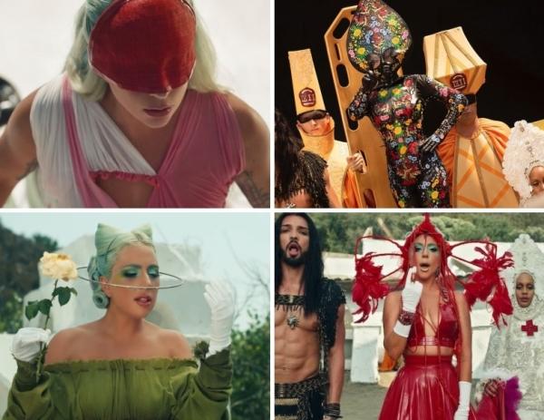 Ra mắt MV911,Lady Gaga đã thành 'tắc kè hoa' với những màn đổi đồ cực 'dị'...