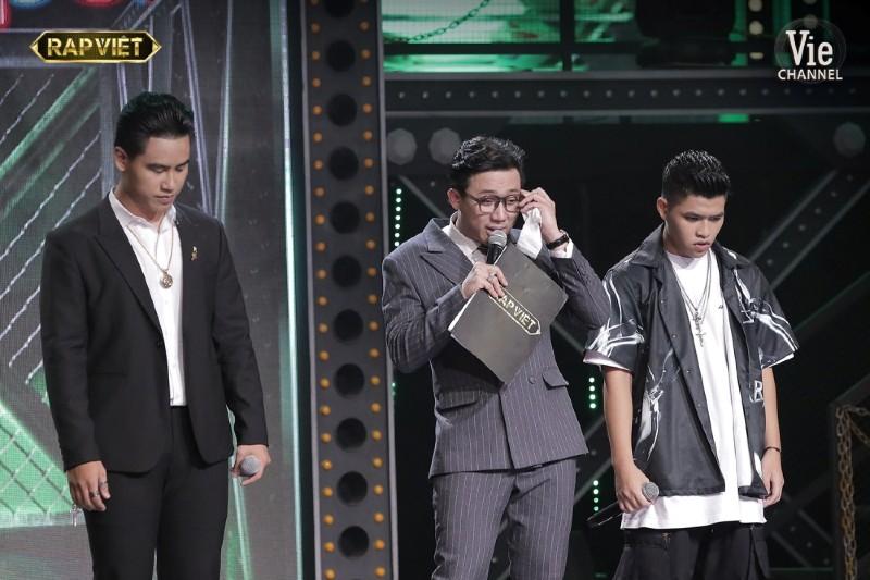 Đây là lần thứ 3 Trấn Thành rơi nước mắt trong Rap Việt.