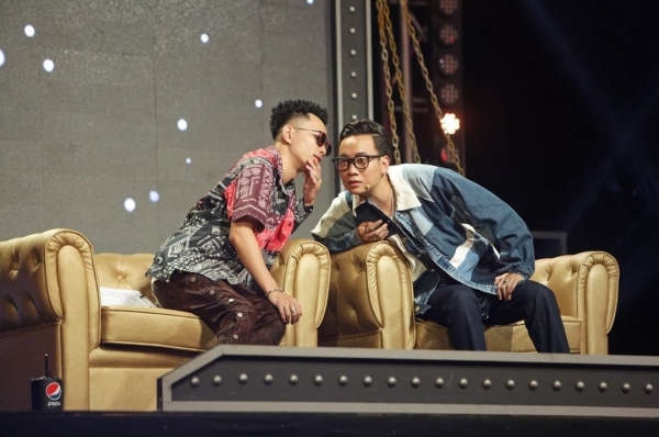 Rhymastic và JustaTee là 2 giám khảo của 'Rap Việt'