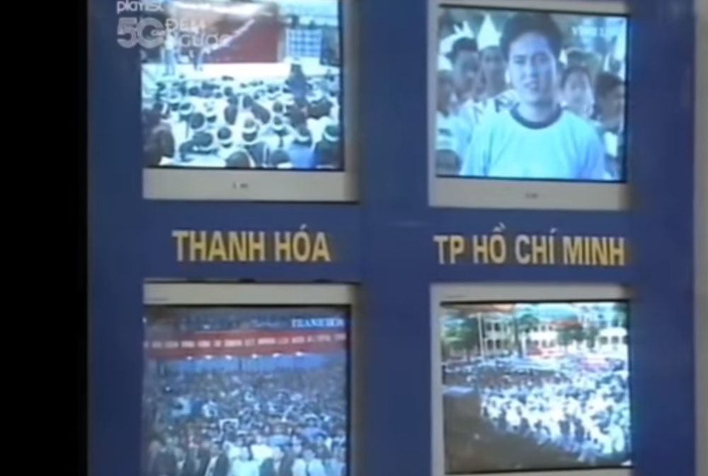 Cũng tổ chức trực tiếp ở 4 cầu truyền hình