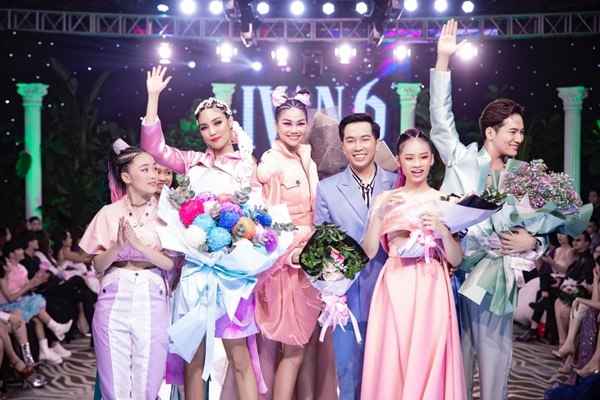 Mẫu nhí Bảo Hà catwalk chuyên nghiệp tại show thời trang của NTK Ivan Trần 5