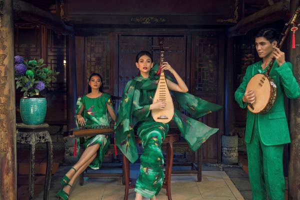 Võ Hoàng Yến khoe thần thái ngút ngàn trong bộ sưu tập mới của Vũ Ngọc và Son 6