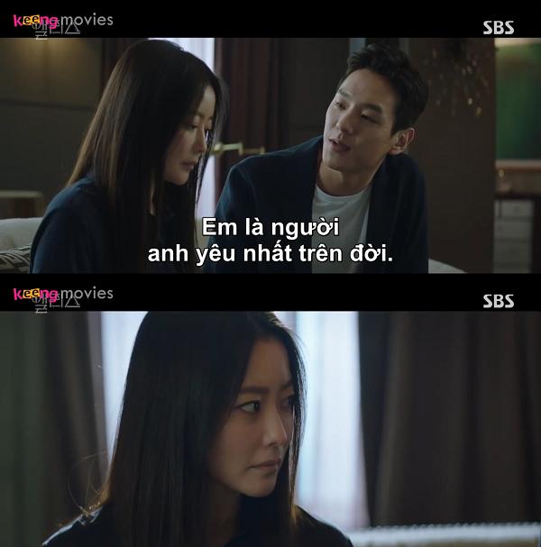 Kwak Si Yang - Kim Hee Sun trong Alice.