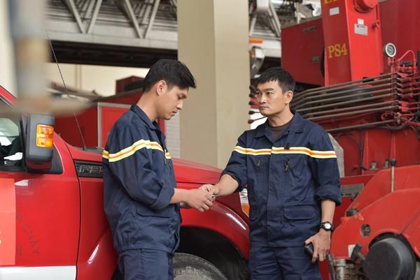'Lửa Ấm' - bộ phim đặc tả lính cứu hỏa lên sóng nối tiếp 'Lựa chọn số phận' 0
