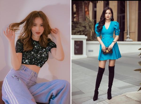 2 người đẹp có điểm giống nhau là gu thời trang sang xịn.