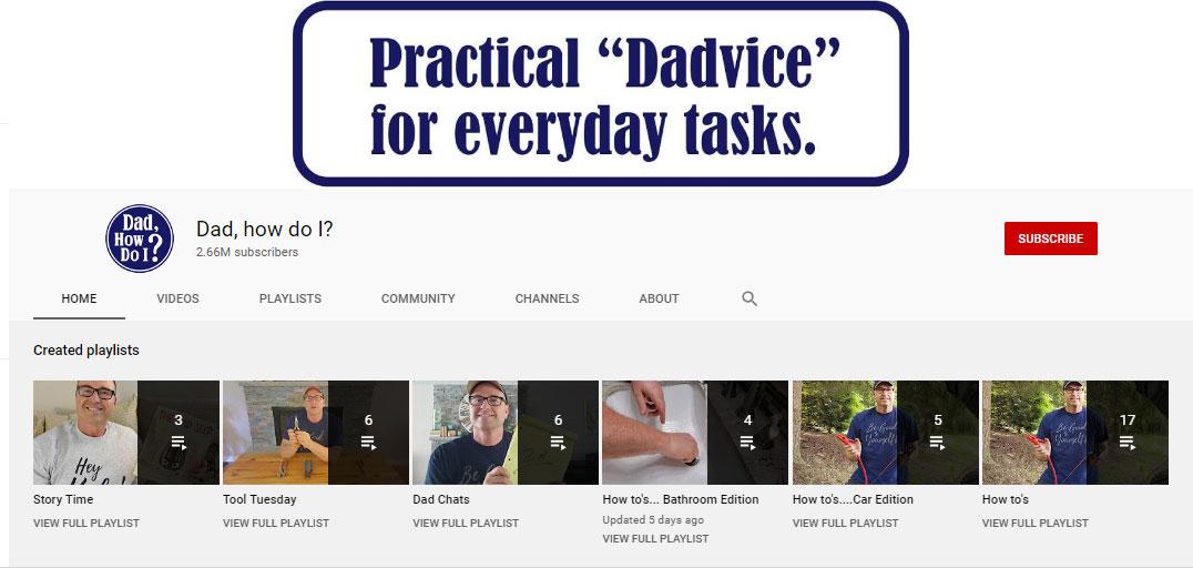 Bố bỏ đi năm 14 tuổi, người đàn ông lập kênh Youtube 'Bố ơi, làm thế nào...?' giúp đỡ những đứa trẻ cùng cảnh ngộ 0