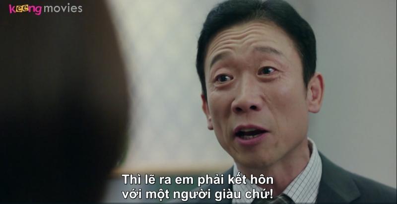 Choon Bok vì nóng giận đã nặng lời với vợ