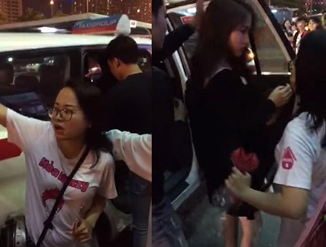 Hình ảnh được cắt ra từ clip khiến Hoà Minzy bị ném đá vào cuối năm 2018.