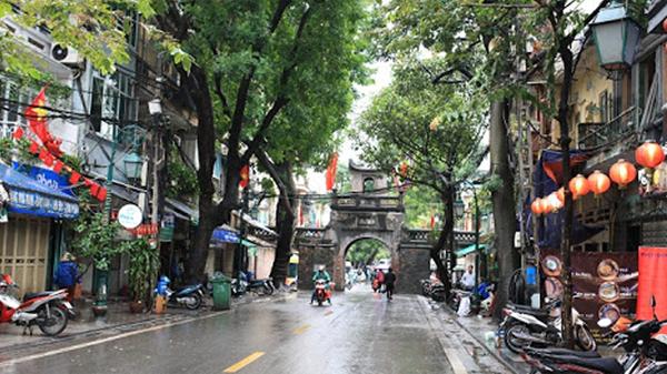 Bình yên phố Hà Nội. Ảnh:Kinh tế đô thị