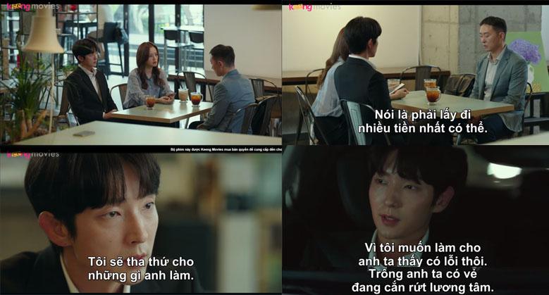 Do Hyun Soo phơi bày những bản chất của mình và sợ những cảm xúc anh dành cho Ji Won đều là giả dối.