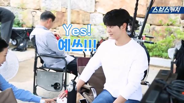 Joo Won trả lời không chút chần chừ...