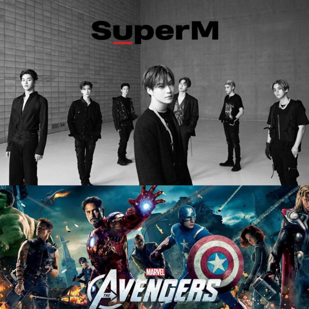 Fan nóng lòng chờ đợi các sản phẩm kết hợp của SuperM và Marvel.