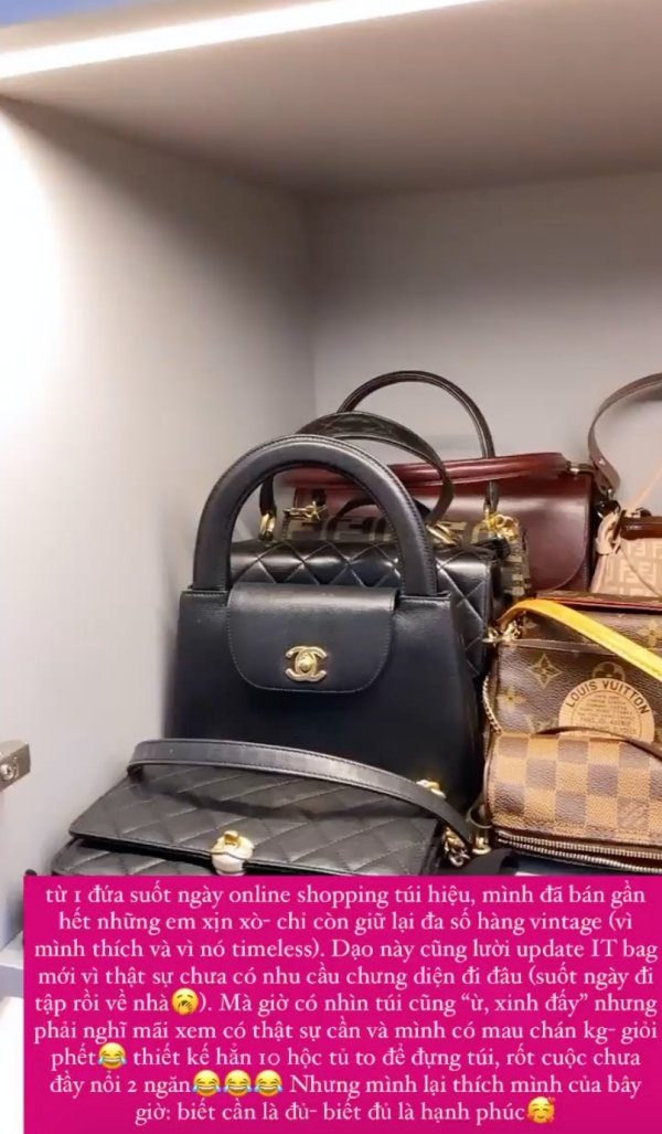Từng mê mẩn những chiếc túi hàng hiệu nhưng giờ Tóc Tiên bán gần hết, nguyên nhân vì sao? 0