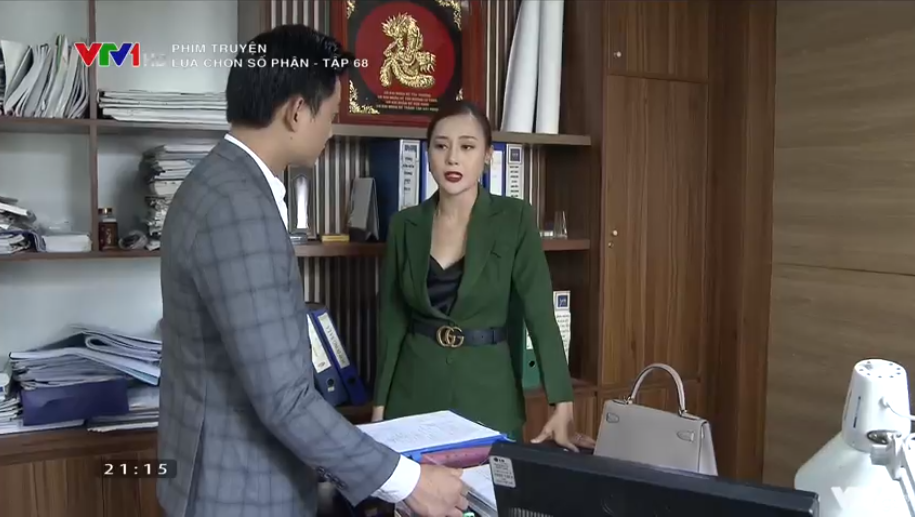 'Lựa chọn số phận' tập 68: Tiến Lộc nổi máu dê, cưỡng hôn Phương Oanh khiến chị đại 'chia tay vội' 2