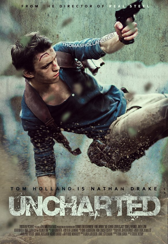 Poster 'Uncharted'.