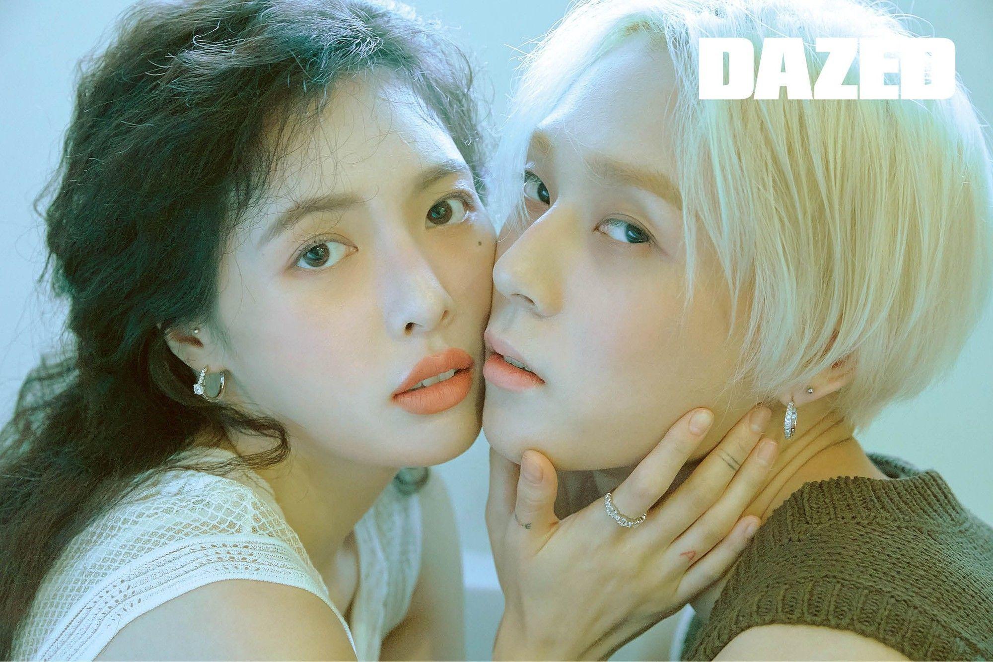 Vướng nhiều chỉ trích thị phi nhưng E'Dawn và HyunA vẫn kiên quyết bảo vệ tình yêu của mình
