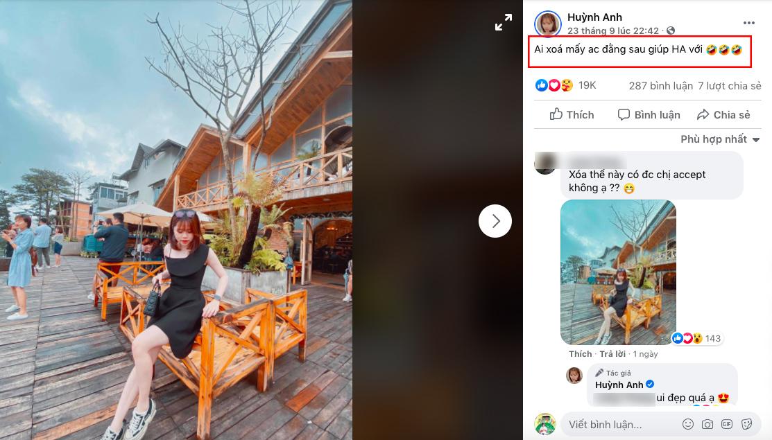 Nhờ dân mạng chỉnh sửa ảnh, bạn gái Quang Hải bị 'troll' đến phát hoảng 0