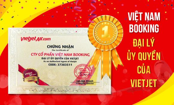 Vietnam Booking là đại lý ủy quyền của Vietjet Air và các hãng hàng không nội địa.