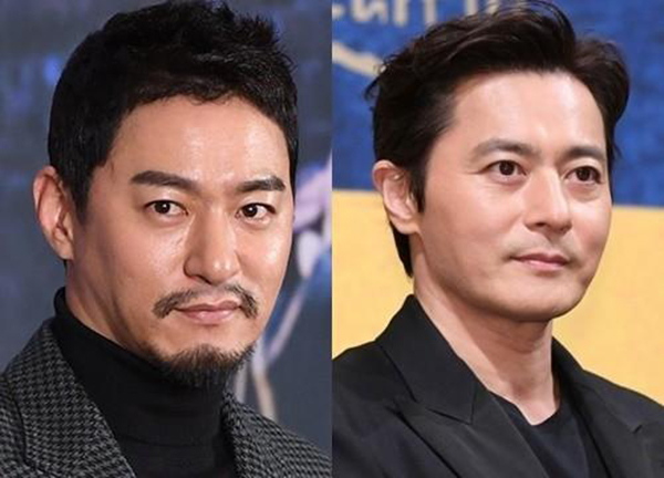 Tháng 1 năm nay, Joo Jin Mo và Jang Dong Gun bị lộ tin nhắn có nội dung 18+ gây chấn động làng giải trí.