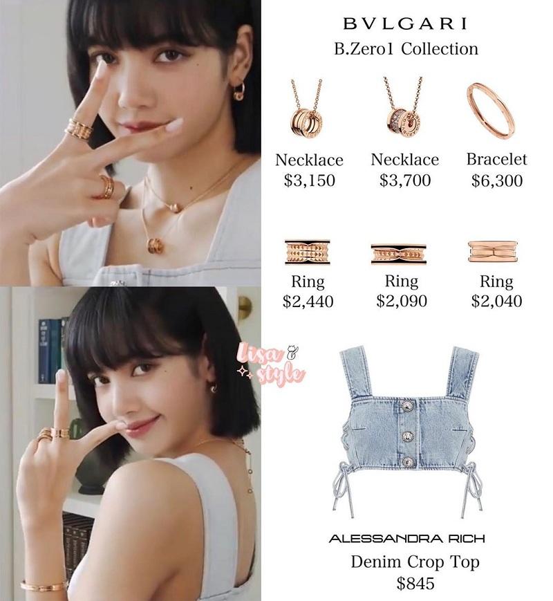 Cô nàng khiến fan 'ngất lịm' với loạt items cao cấptrị giá từ 1.580 USD (gần 36.5 triệu đồng) đến 7.800 USD, tương đương 180 triệu đồng.