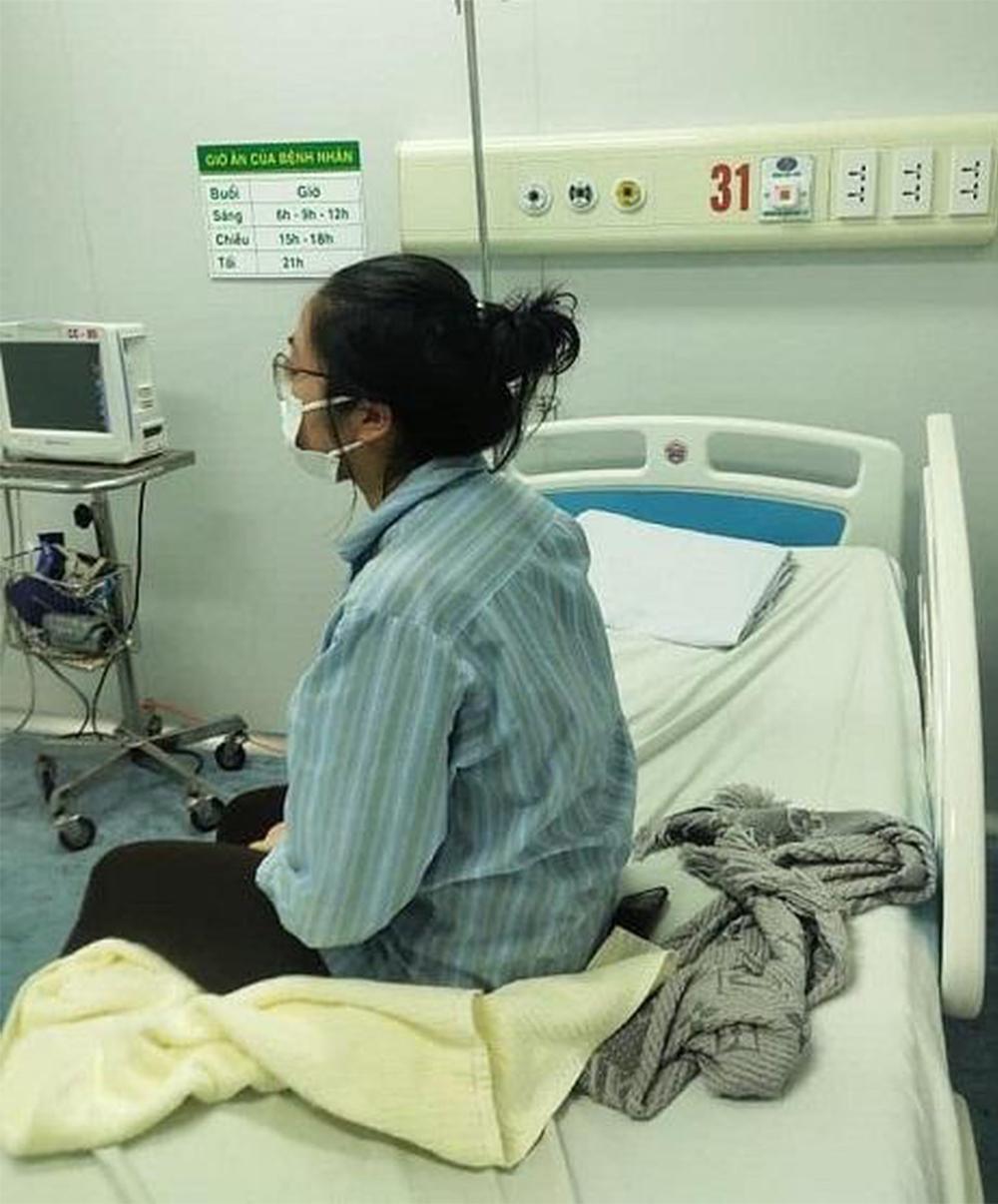 BN17 trong thời gian điều trị tại Việt Nam.