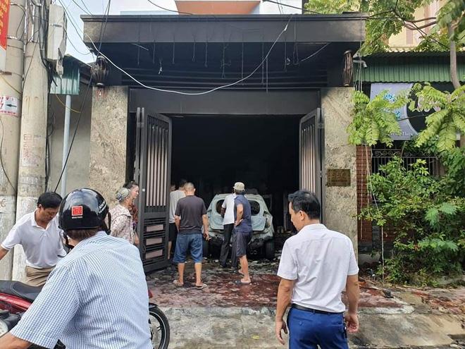 Nhà ông Tr. nơi xảy ra vụ cháy.