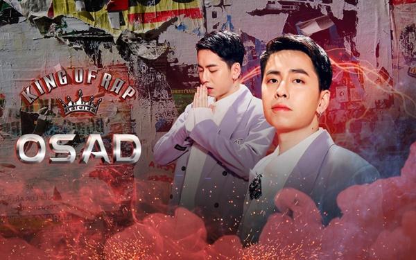 Osad lấy Binz làm hình mẫu, lần đầu lên tiếng về mâu thuẫn trường kỳvới MCK 'Rap Việt' 6