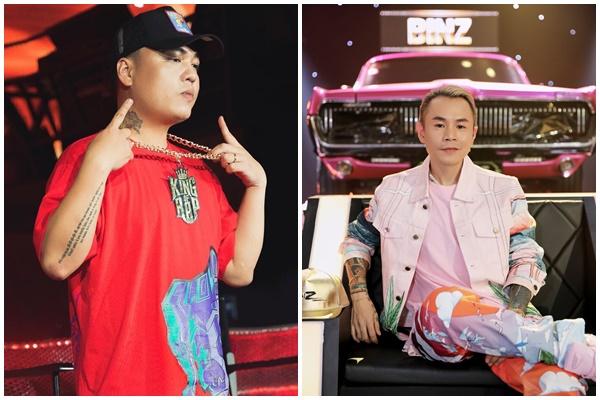 LK và Binz chính là hai nhân vật mà Osad yêu thích trong hai chương trình Rap hot nhất hiện tại.