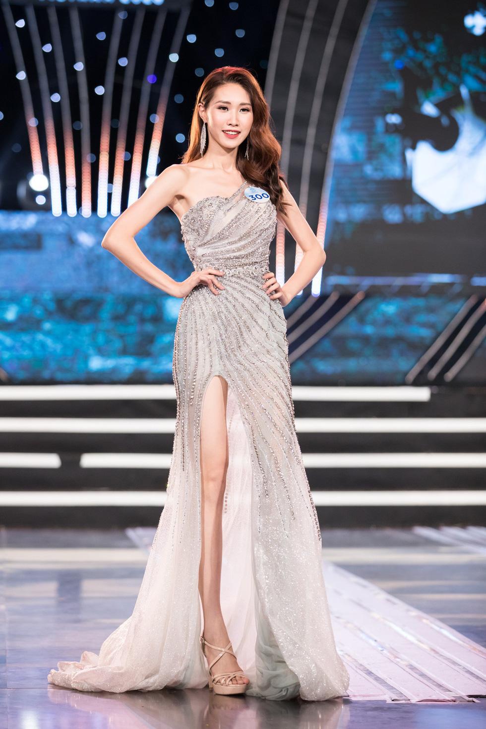 Ngọc Ánh từng tham giaHoa hậu Thế giới Việt Nam 2019 và dừng chân ở vòng Chung kết