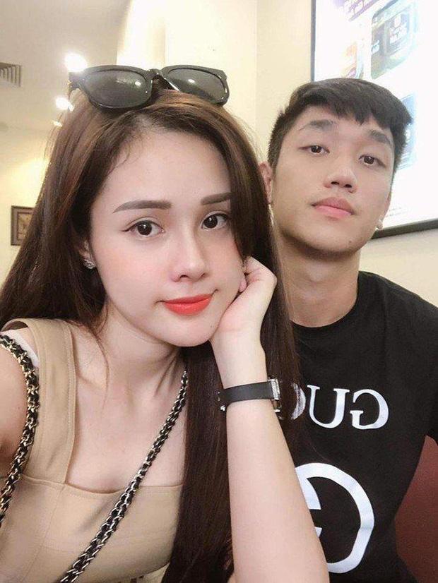 Cặp đôi Huyền Trang - Trọng Đại từng được người hâm mộ đánh giá là đẹp đôi nhất nhì làng bóng đá Việt