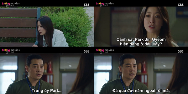 Người ở sở cảnh sát nói với Yoon Tae Yi rằng Park Jin Gyeom đã qua đời.