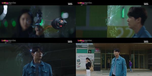 Thời gian đột ngột dừng lại khi viên đạn hướng về phía Park Jin Gyeom.