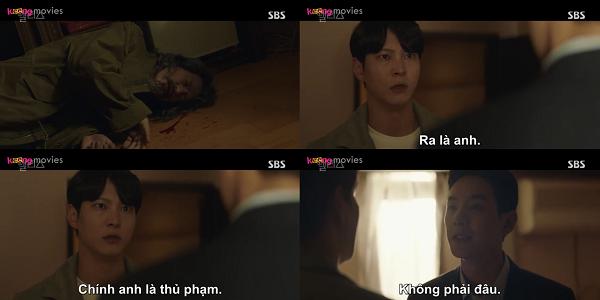 Sự xuất hiện của Yoo Min Hyuk tại hiện trường càng củng cố thêm nghi ngờ của Park Jin Gyeom.