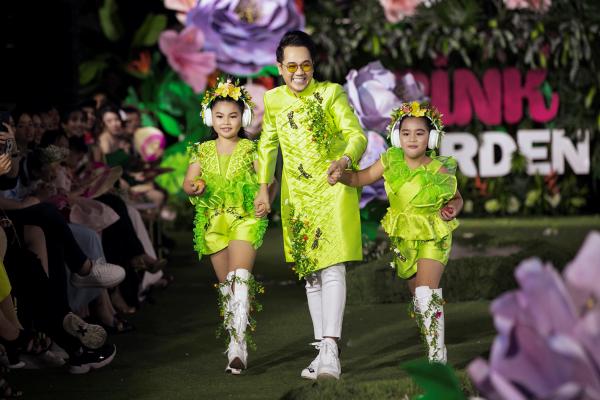 Chị em Cẩm Ly - Minh Tuyết bất ngờ 'đại náo' sàn catwalk 6