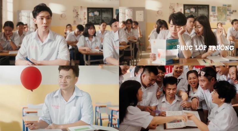 Đức Phúc và Suboi hợp tác tạo nên 'siêu phẩm học đường', đếm không nổi có bao nhiêu cameo góp mặt trong MV mới 5
