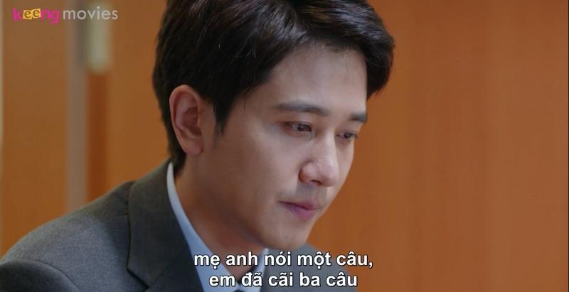 Lưu Dương trách móc Chi Chi cãi mẹ chồng.
