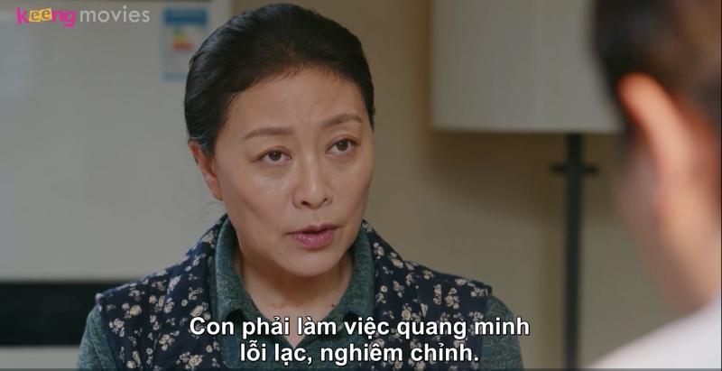 Dù bà không hài lòng với Chi Chi nhưng không muốn con trai mình làm chuyện có lỗi với vợ