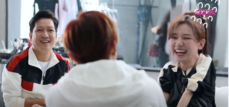 Hari Won bị Trường Giang 'lật tẩy' trong hậu trường show mới, khổ chủ chỉ biết cười trừ! 1