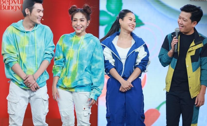 Hari Won bị Trường Giang 'lật tẩy' trong hậu trường show mới, khổ chủ chỉ biết cười trừ! 5
