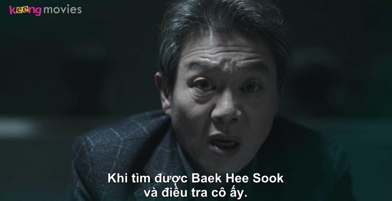 Thế nhưng, cảnh sát Cho tuyên bố nhất định sẽ tìm ra Hae Sook để làm rõ mọi thứ