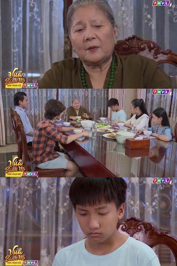 'Vua bánh mì' hé lộ tập 7: Ấm ức khi con trai riêng của chồng xuất hiện, Thân Thúy Hà khóc tức tưởi trên vai nhân tình 1