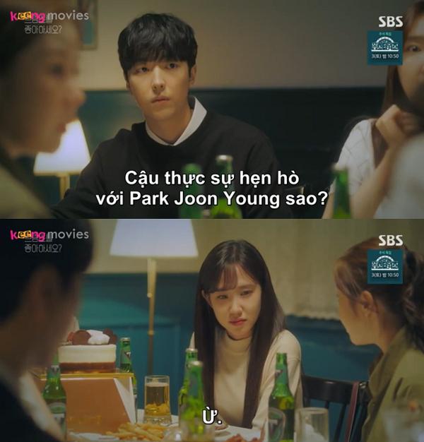 Song Ah và Dong Yoon vẫn chưa nói chuyện trở lại kể từ khi Dong Yoon tỏ tình.