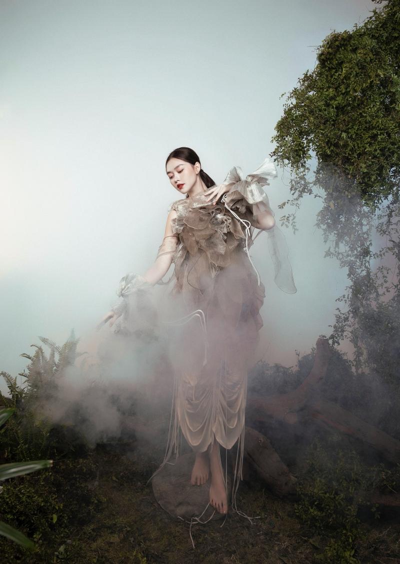 Tưởng không hợp mà hợp không tưởng - Á hậu Tường San tung bộ ảnh hóa 'chị Nguyệt' đậm màu Trung thu 3