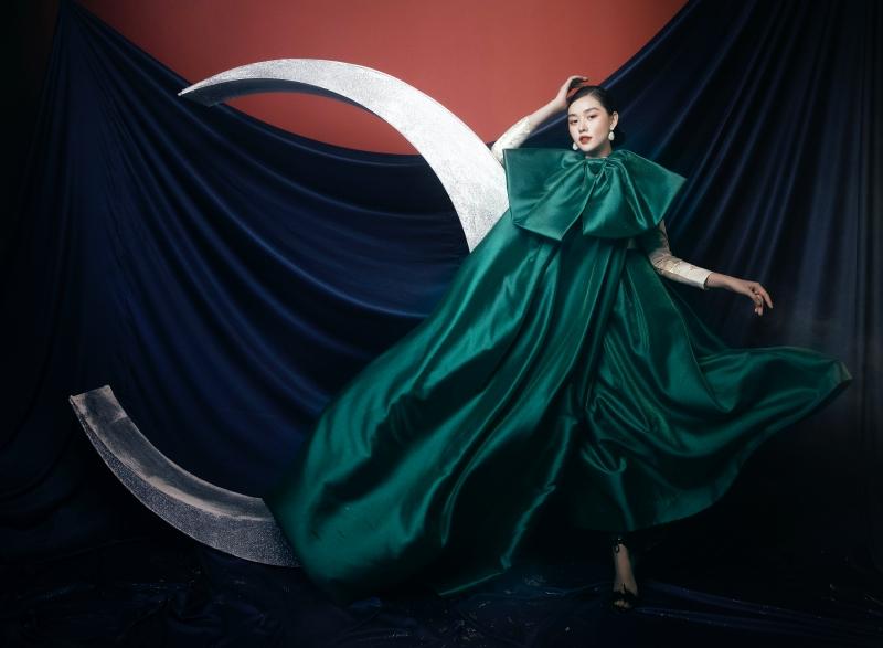Tưởng không hợp mà hợp không tưởng - Á hậu Tường San tung bộ ảnh hóa 'chị Nguyệt' đậm màu Trung thu 6
