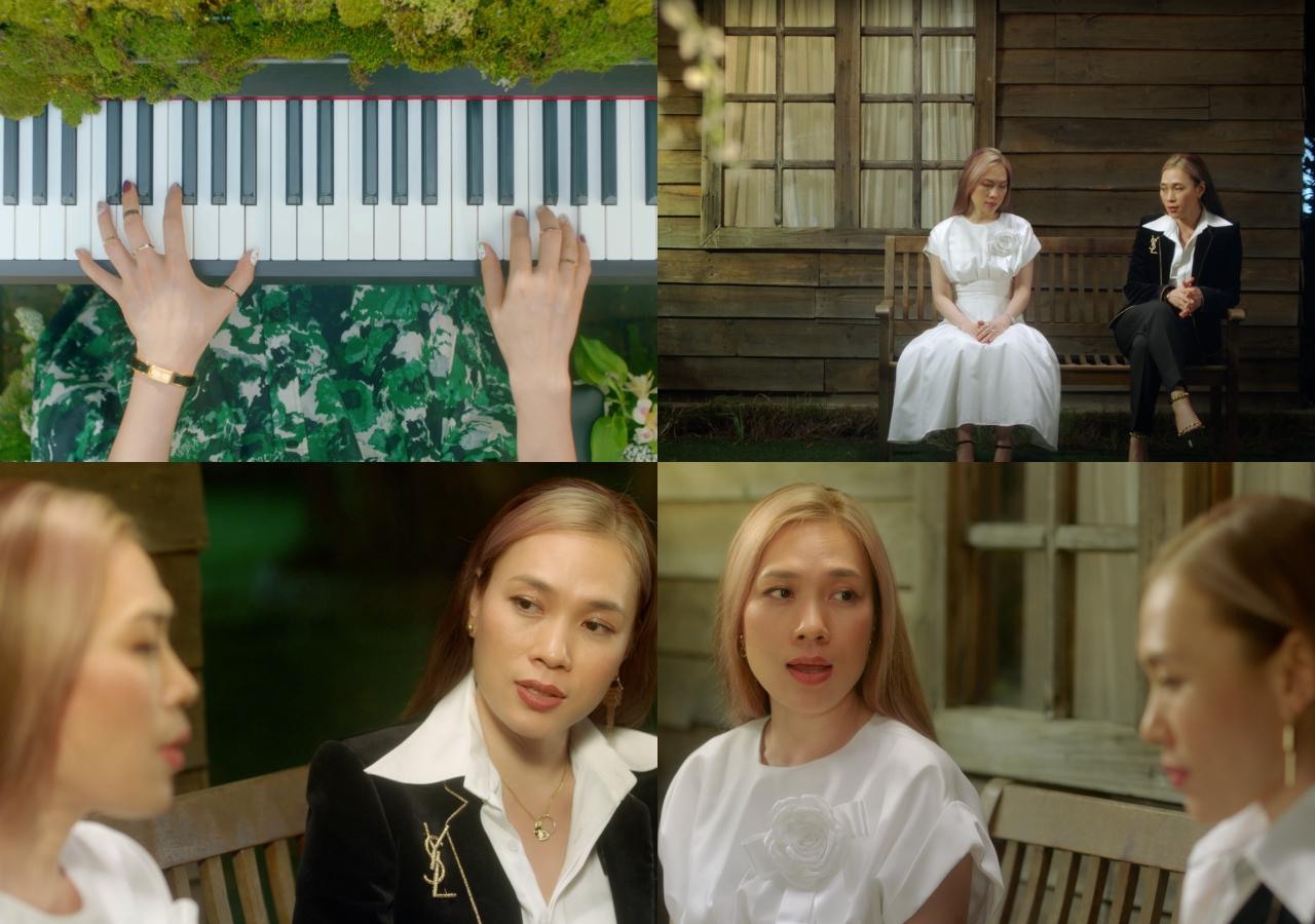 Một số hình ảnh trong MV 'Đúng cũng thành sai'.