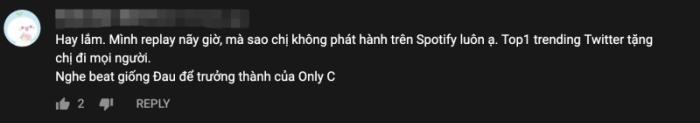 'Đúng cũng thành sai' vừa phát hành, khán giả thấy giai điệu hao hao ca khúc nổi tiếng của Only C? 0