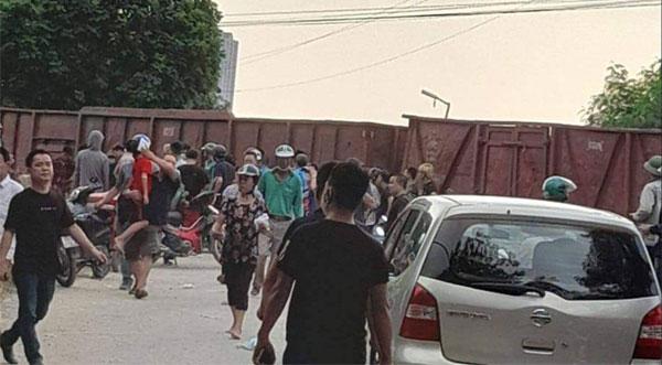 Khu vực xảy ra vụ tai nạn.