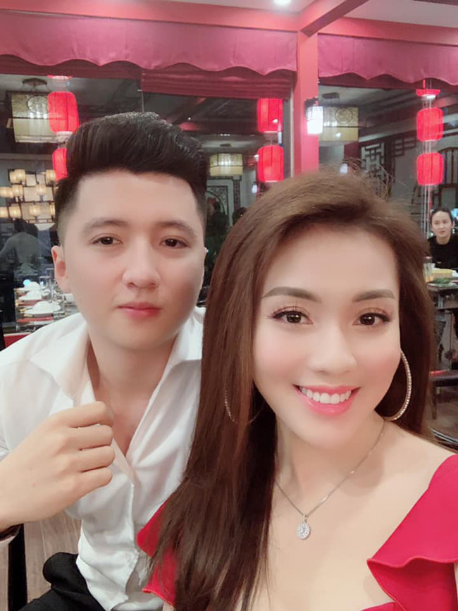 Nguyễn Trọng Hưng và Âu Hà My thuở còn mặn nồng.