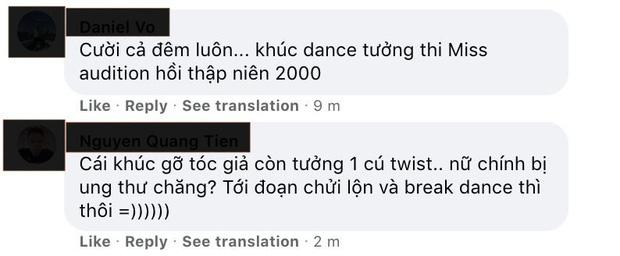 Khán giả bình luận: 'Khúc dance tưởng thi Miss Auditon thập niên 2000'